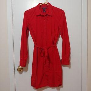 Tommy Hilfiger Red Shirt Dress
